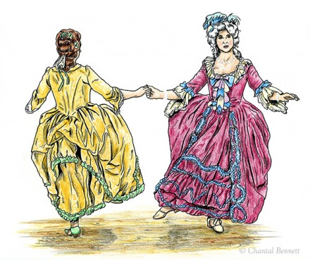 French court costumes