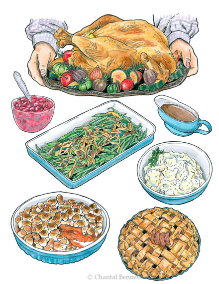 Holiday foods